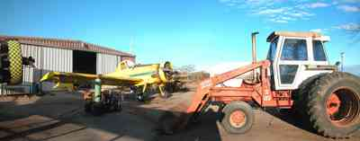Walnut-Hill:-Mikes-Ag-Air_02.jpg:  crop duster, agricultural applications, chemical dusting, farm, farmland, airplane, single engine airplane